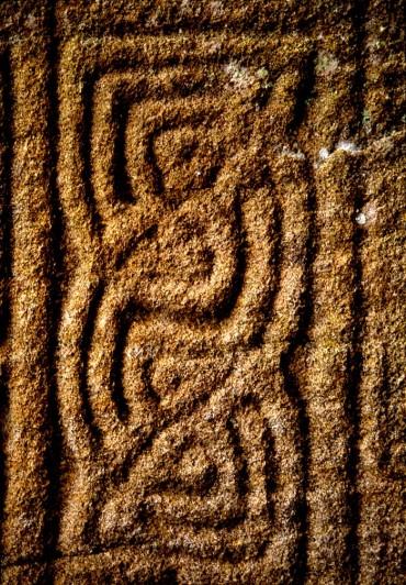 9th century Kinnity High Cross detail