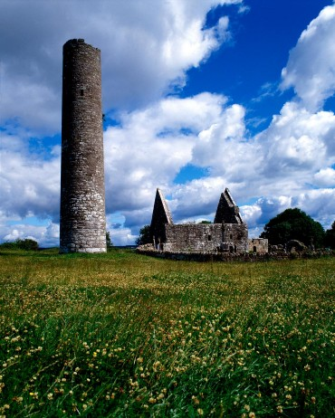 Inis Cealtra, a place of supernatural peace and tranquility on Lough Derg. Tipperary.